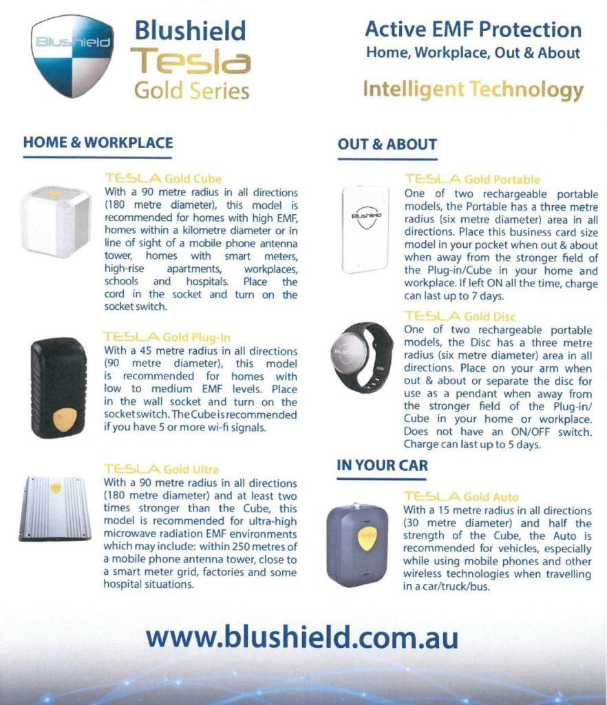 Product Description - Blushield Australia